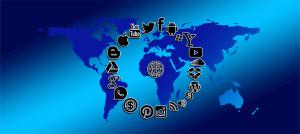 ソーシャルメディア 世界