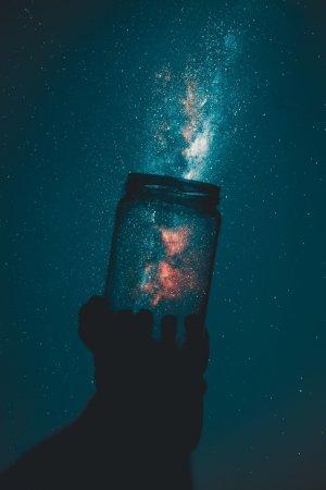 宇宙の中の世界