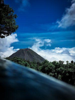 火山の写真